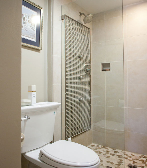 Bath Upgrade With Shower Jets